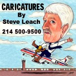 Caricatures by Steve Leach