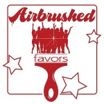 Airbrushed Favors